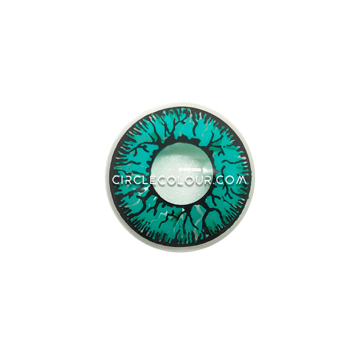 CircleColour® Soft Eye Circle Lens Tokyo Ghoul Crack Green Cosplay Colored Contact Lenses M0623