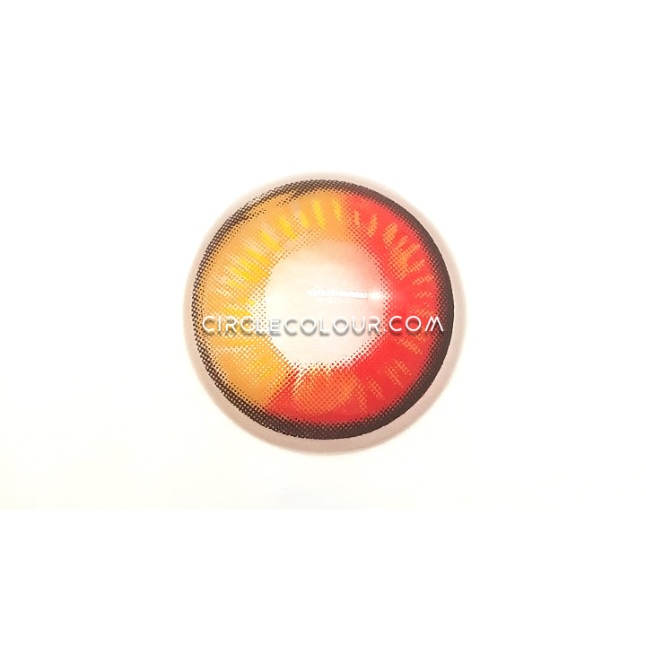 CircleColour® Soft Eye Circle Lens Tokyo Ghoul Dimension Red Cosplay Colored Contact Lenses M0635