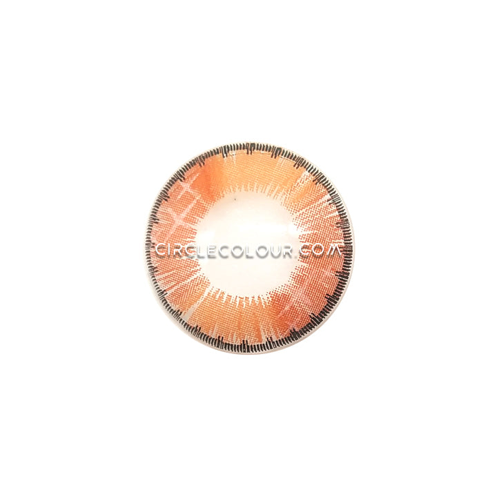 CircleColour® Soft Eye Circle Lens Colorful Fruits Brown Dream Colored Contact Lenses M065