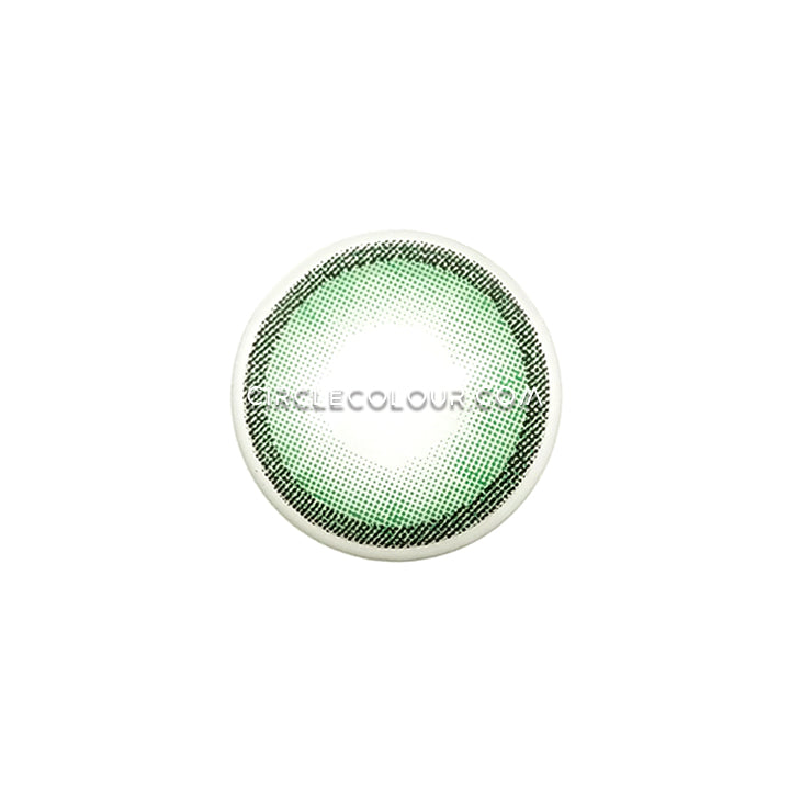 CircleColour® Soft Eye Circle Lens Polar Lights Green II Natural Colored Contact Lenses  M0079