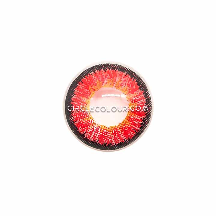 CircleColour® Soft Eye Circle Lens Icy Red Dream Colored Contact Lenses M0862