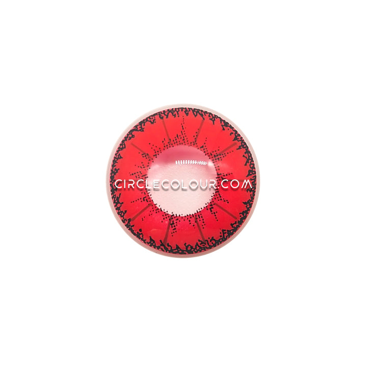 CircleColour® Soft Eye Circle Lens Little Devil Red Cosplay Colored Contact Lenses M0950
