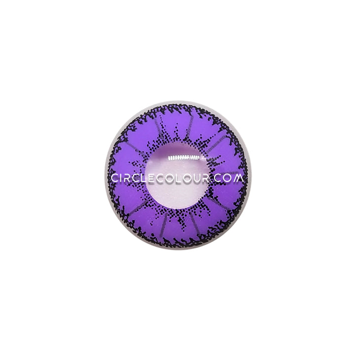 CircleColour® Soft Eye Circle Lens Little Devil Purple Cosplay Colored Contact Lenses M0951