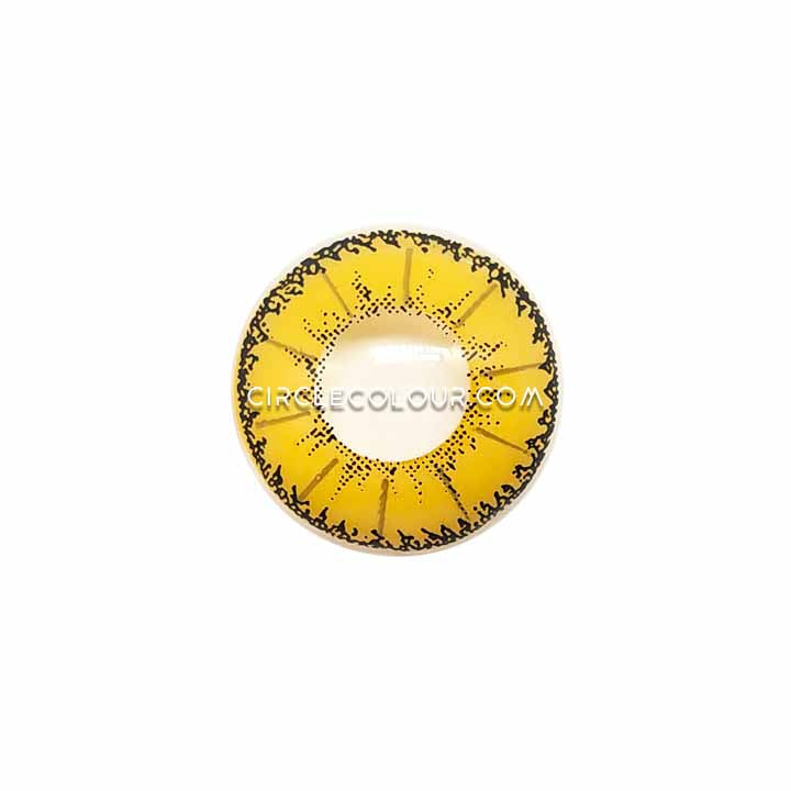 CircleColour® Soft Eye Circle Lens Devil Yellow Cosplay Colored Contact Lenses M0952
