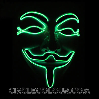 V for Vendetta LED Light Up Masks B01250