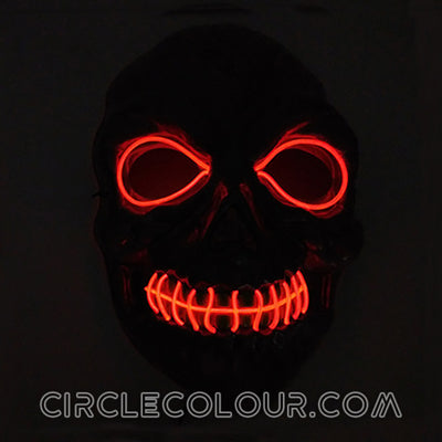 Zombie LED Light Up Masks B01258