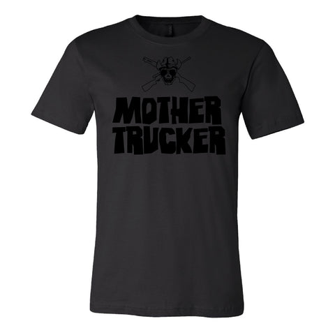 Mother Trucker Black T-Shirt