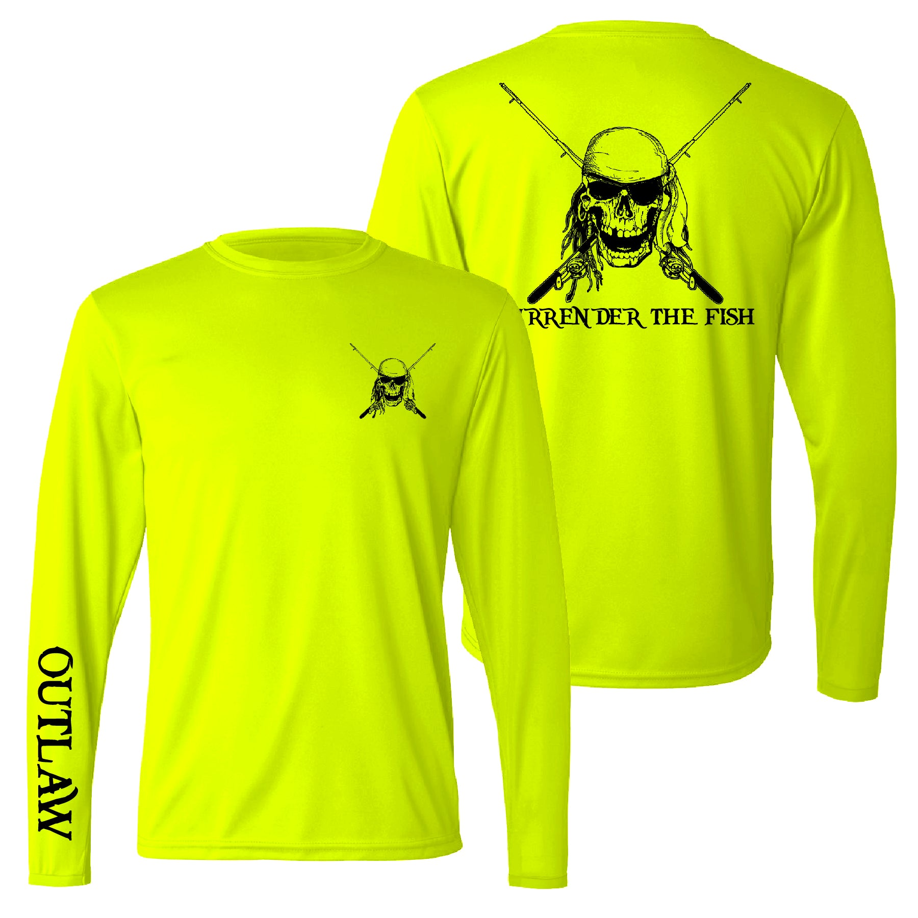 Surrender The Fish Performance Fishing Shirt