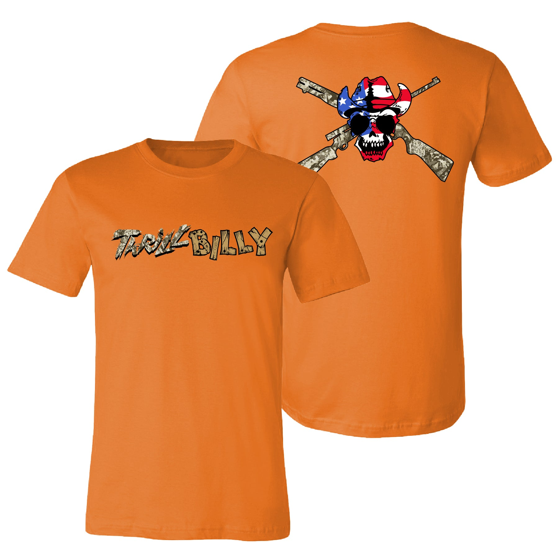Thrill Billy Orange T-Shirt