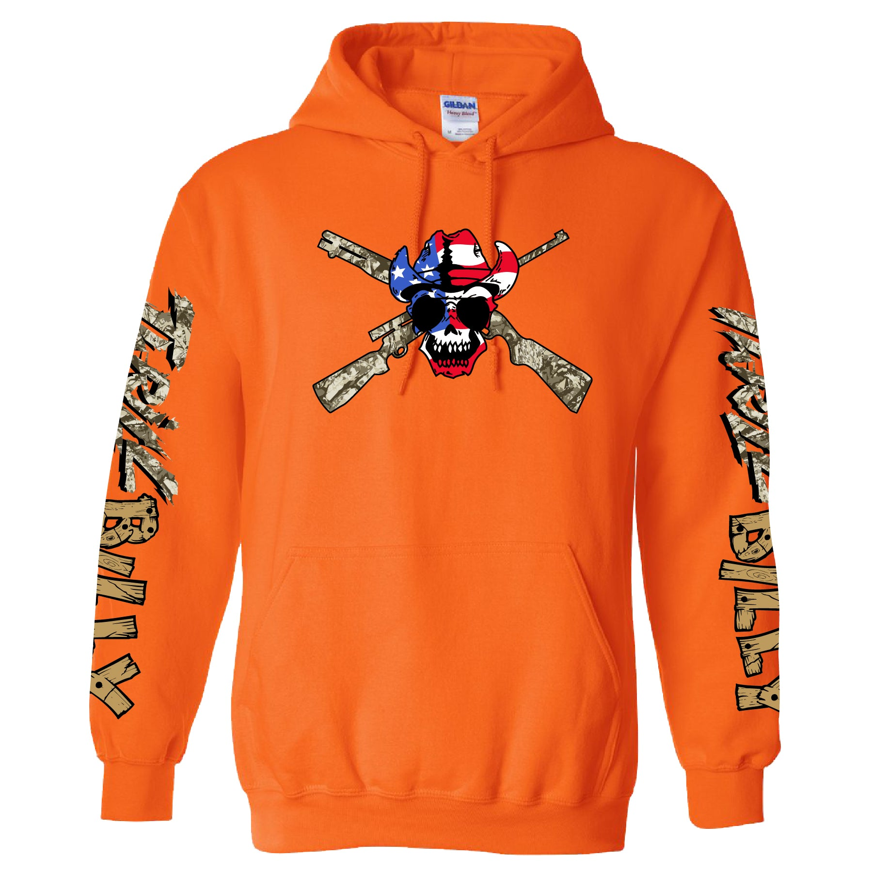 Thrill Billy Orange Hoodie