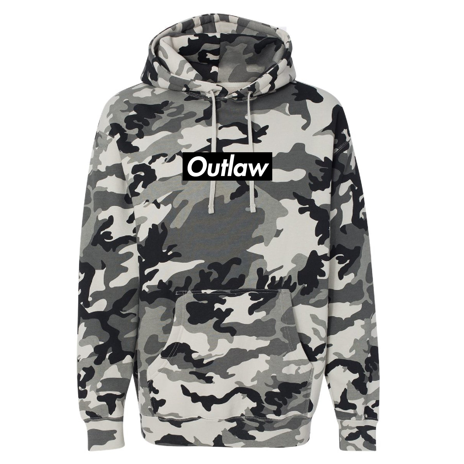Outlaw Snow Camo Hoodie