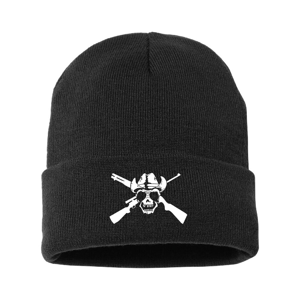 Outlaw Jersey Lined Cuffed Beanie