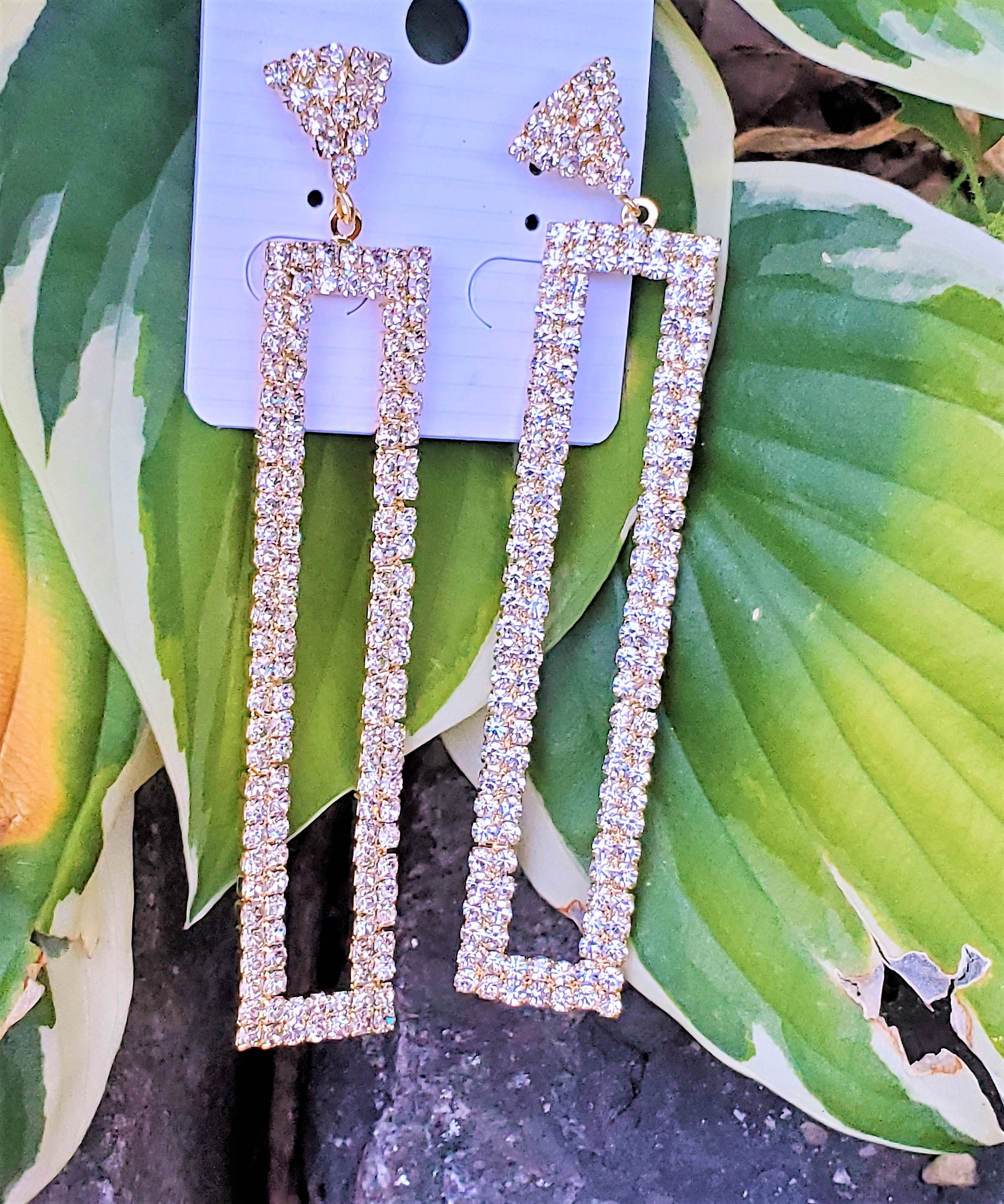 Regal Drop Earrings