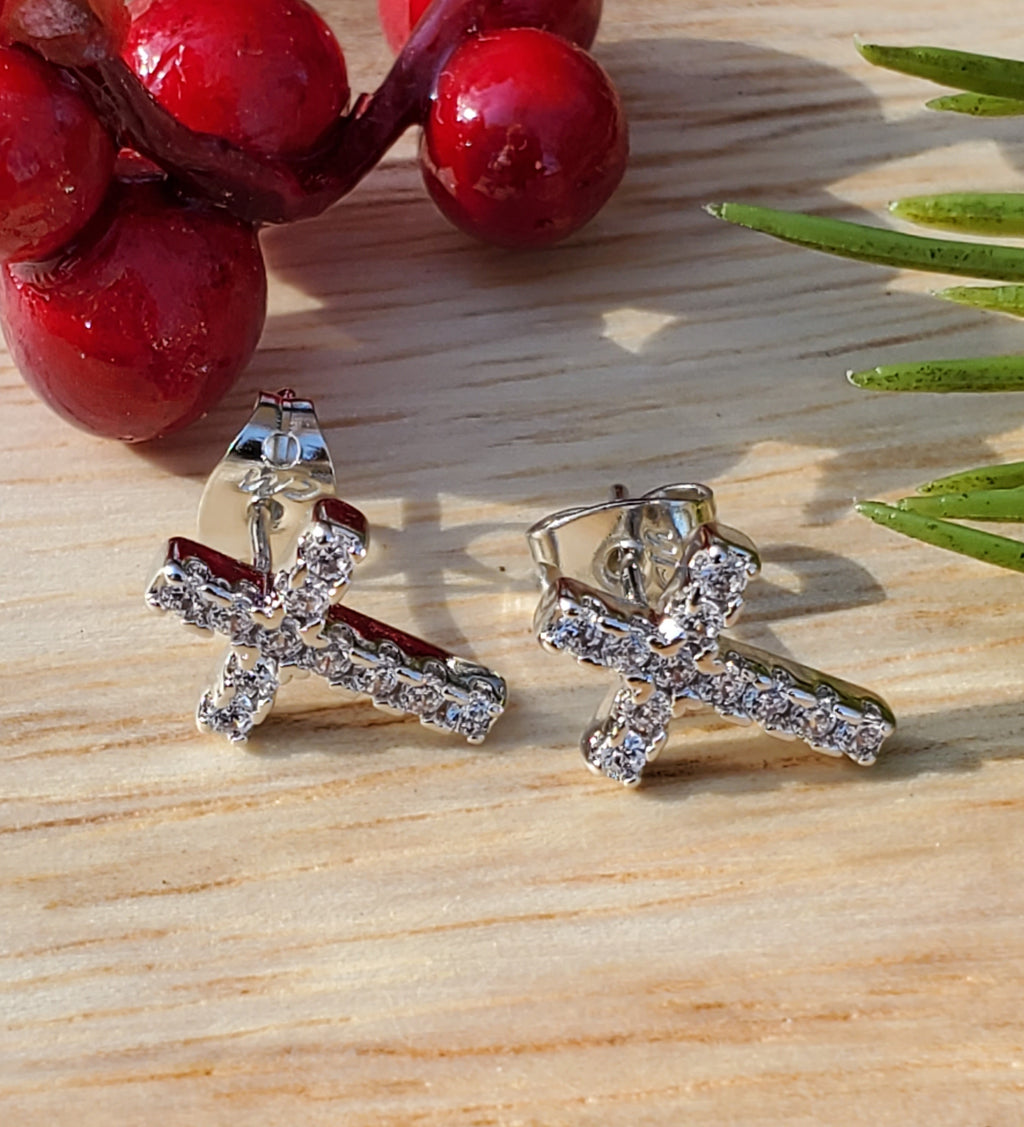 Ahvay Cross Studs