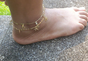 Layered Anklet