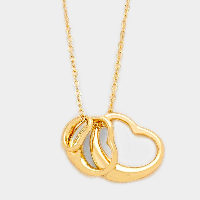 Triple The Love Necklace