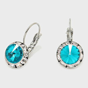Austrian Crystal Drop Earrings