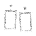 Rectangle Statement Earrings #2