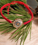 Red String Eye Bracelet