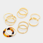 11 pcs Ring Set