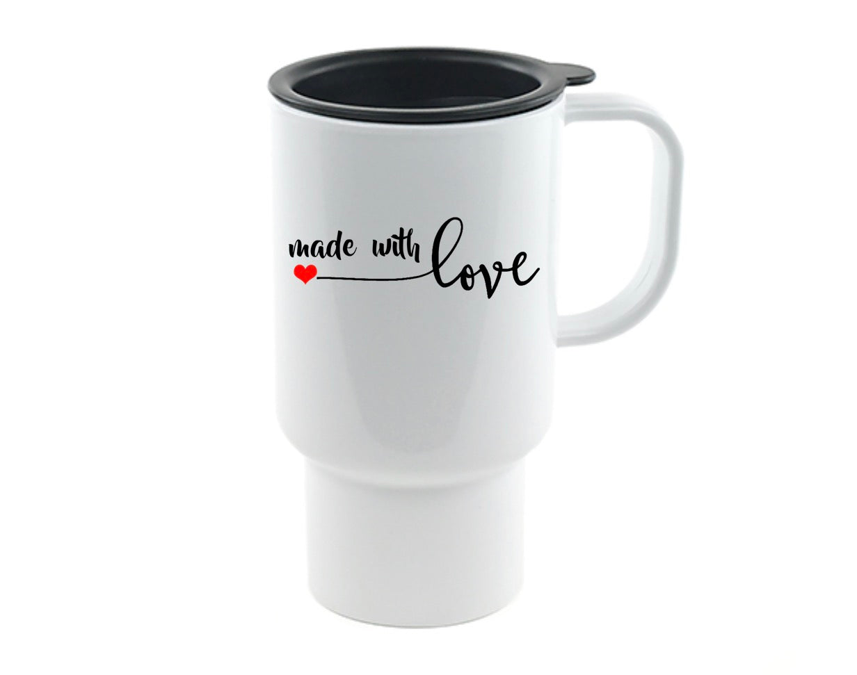 Made With Love Travel Mug