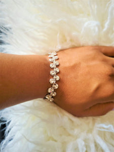 Scalloped Rhinestone