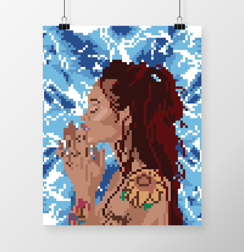 Kehlani (Water Sign) Poster