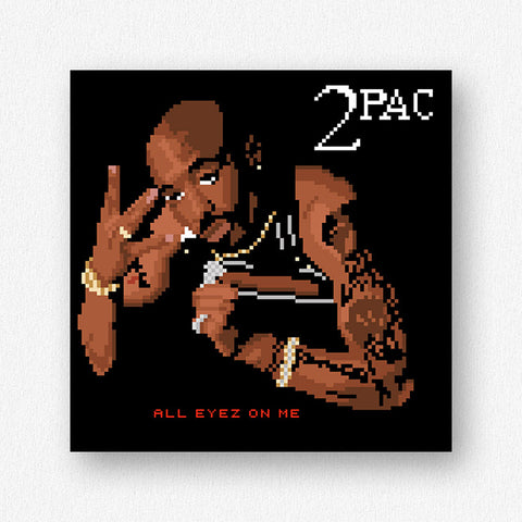 All Eyez Mini Premium Print