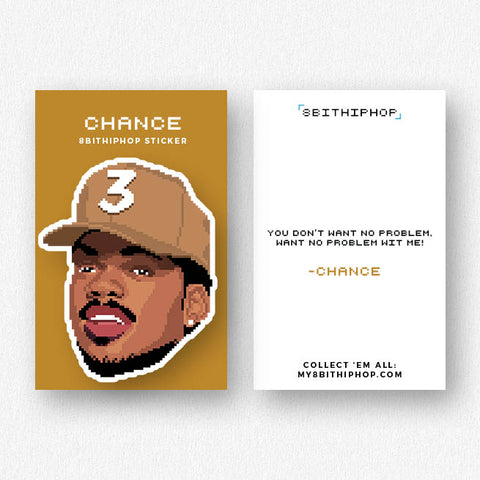 Chance 3 Sticker