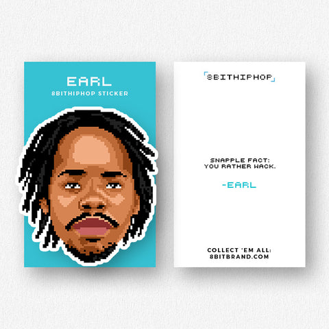 Earl Sweatshirt Sticker