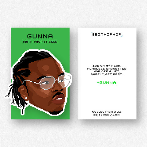 Gunna Sticker - Preorder
