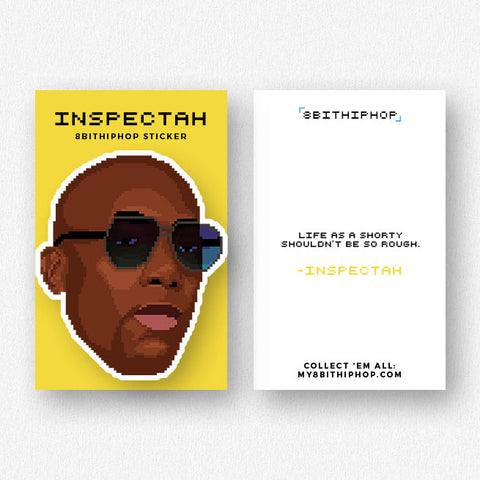 Inspectah Sticker