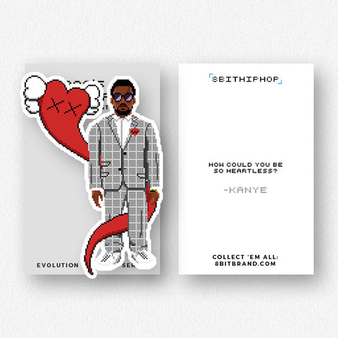 Kanye: 808's & Heartbreak Sticker