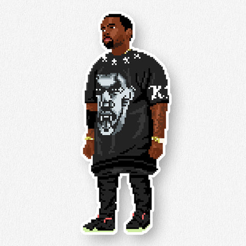 Kanye: Watch the Throne Sticker