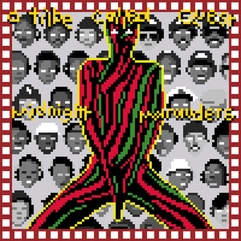 Midnight Marauders Mini Premium Print
