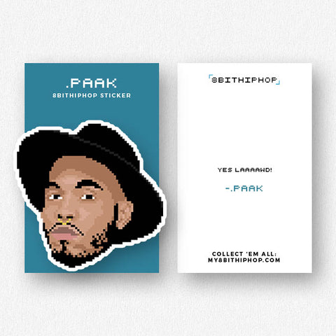 .Paak Sticker