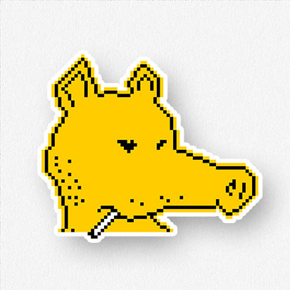 Lord Quas Sticker