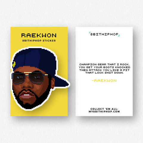 Raekwon Sticker