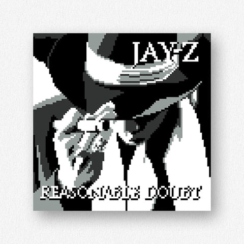 Reasonable Doubt Mini Premium Print