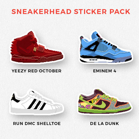 Sneakerhead Sticker Set