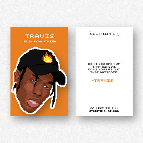 Travis Sticker