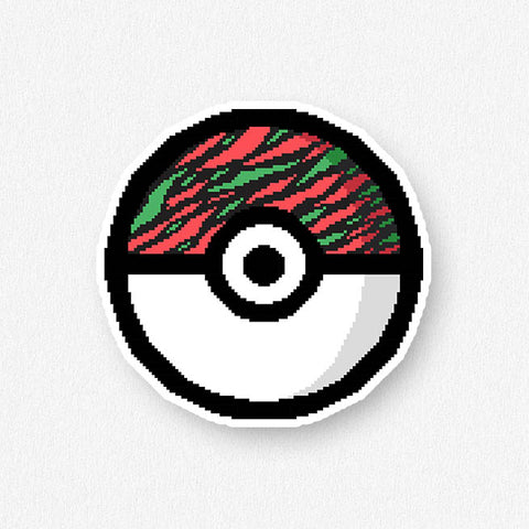 Pokeball Sticker Set