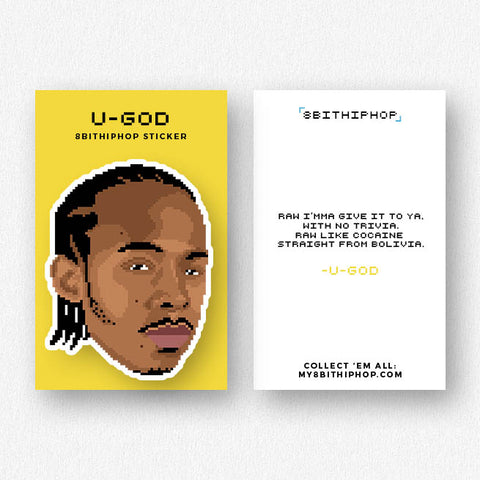 U-God Sticker