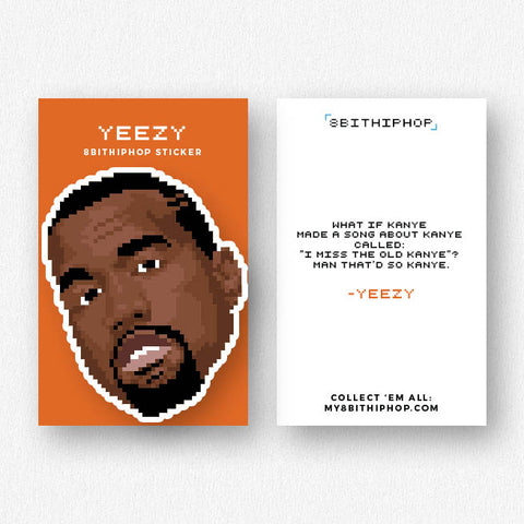 Yeezy Sticker