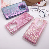 Liquid Flower & Glitter Case