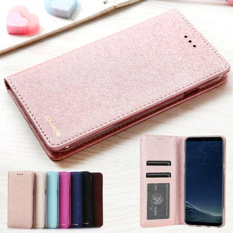 Coolest Luxury Leather Flip Case S8/S8+