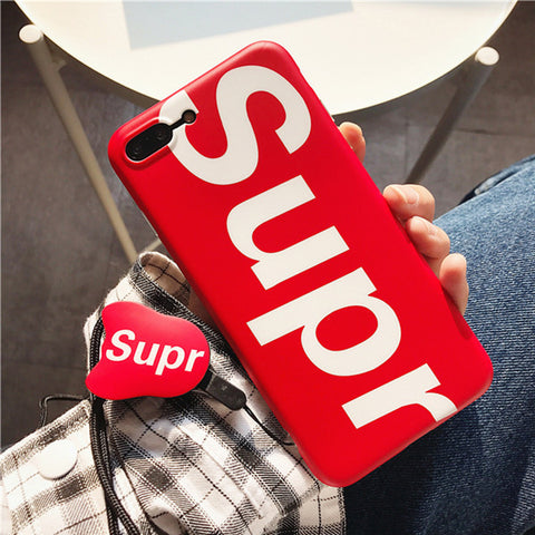 Supreme Matte Silicon Case