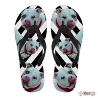 Catahoula Leopard Flip Flops For Men-Free Shipping - Deruj.com
