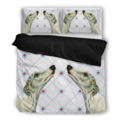 Valentine's Day Special-Whippet2 Print Bedding Set-Free Shipping - Deruj.com