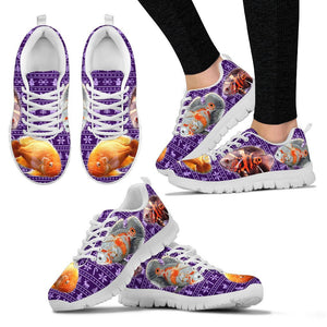 Oscar Fish Print Christmas Running Shoes For Women- Free Shipping
